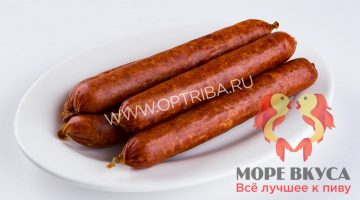 Колбаски Пикантные из оленины