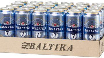 Балтика №7 большая упаковка
