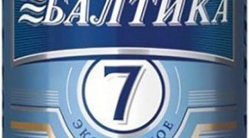 Балтика 7 1 литр