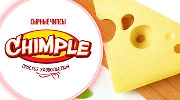 Сырные чипсы «Chimple»