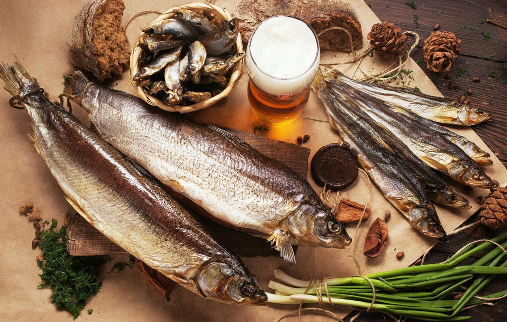 Вяленая рыба оптом три минтая