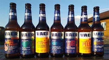Обзор обновленных сортов пива от новосибирской пивоварни VAER