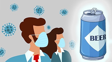 Можно ли пить пиво после коронавируса
